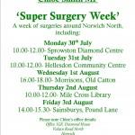 super surgery week poster